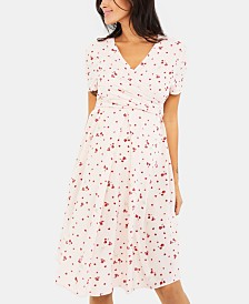 Isabella Oliver Maternity V-Neck Dress