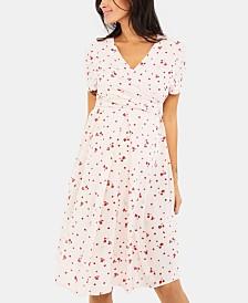 Isabella Oliver Maternity V-Neck Dress