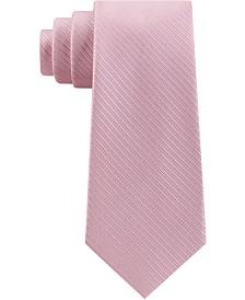 Michael Kors Men's Thin Stitched Tailored Stripe Tie