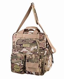 Lillian Rose Operational Camouflage Military Daddy Diaper Bag