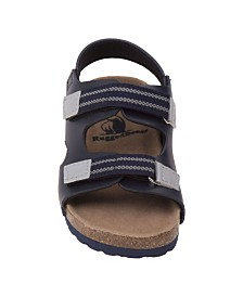 Rugged Bear's Every Step Strappy Sandals