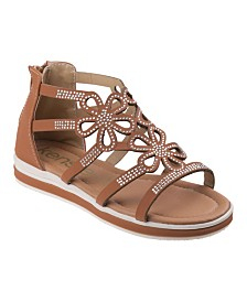 Kensie Girl's Every Step Strappy Sandals