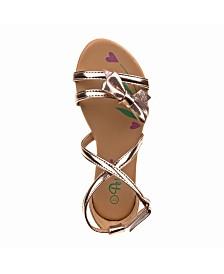 Petalia's Every Step Low Heel Sandals