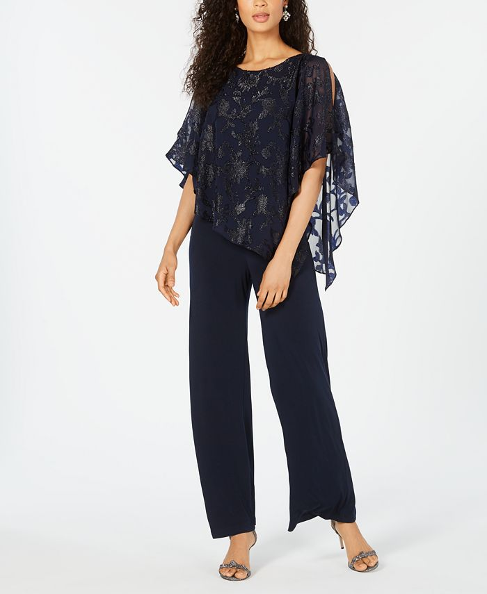 Connected - Asymmetrical Overlay Jumpsuit