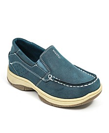 Little and Big Boys Evan Classic Dress Comfort Slip-On Boat Shoe