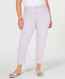 MICHAEL Michael Kors Plus Size Izzy Skinny Ankle Jeans