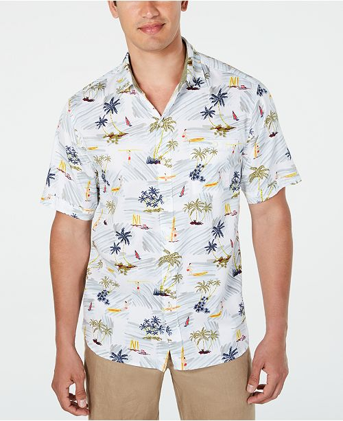 Tommy Bahama Men's Belavita Surf Club Shirt