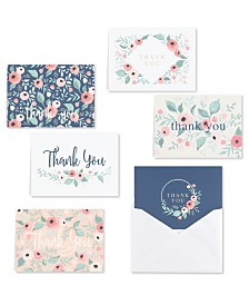 Blush Floral Note Cards Assortment