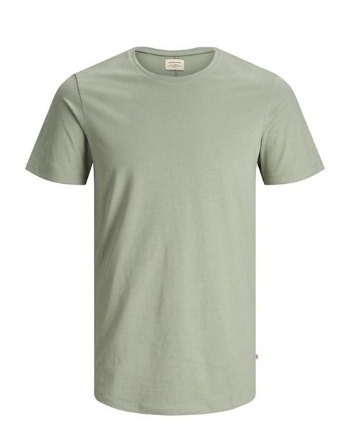 Jack & Jones Men's Long Fit Scooped T-Shirt