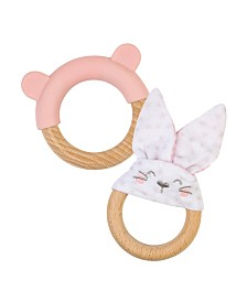 Ring and Bunny Teether