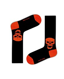 Love Sock Company Men's Casual Socks - Skulls