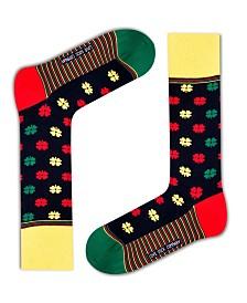 Love Sock Company Men's Casual Socks - Love Clover