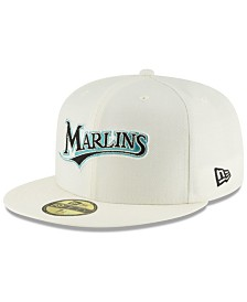 New Era Florida Marlins Vintage World Series Patch 59FIFTY Cap