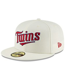 New Era Minnesota Twins Vintage World Series Patch 59FIFTY Cap