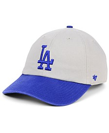 '47 Brand Los Angeles Dodgers Gray 2-Tone CLEAN UP Cap