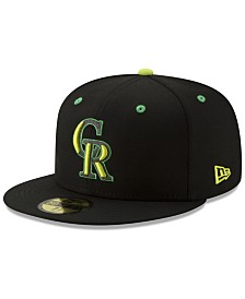 New Era Colorado Rockies Night Moves 59FIFTY Fitted Cap