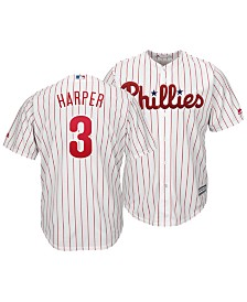 Majestic Men's Bryce Harper Philadelphia Phillies Player Replica Cool Base Jersey