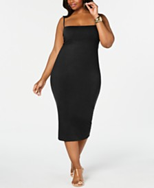 Rebdolls Strappy Midi Dress By The Workshop At Macy's, Regular & Plus Sizes