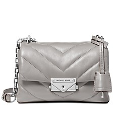 Cece Chevron Quilted Leather Mini Chain Crossbody