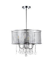 "Jonathan Y Avah 17"" Adjustable LED Drop Pendant"