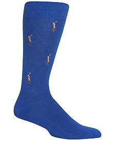 Polo Ralph Lauren Men's Socks, Polo Player Dress Crew Sock