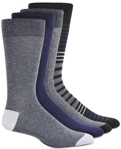 Steve Madden Men's 4-Pk. Crew Socks