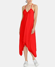 RACHEL Rachel Roy Maddelena Sleeveless Handkerchief-Hem Dress