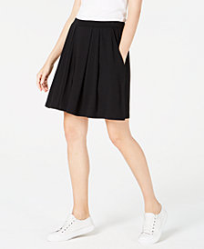 Eileen Fisher Tencel Pleated Shorts