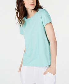 Organic Cotton Crewneck T-Shirt, Regular & Petite