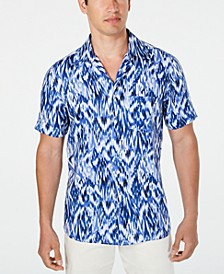 Men's Utata Ikat Linen Shirt, Created for Macy's