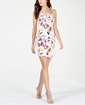 aac7135e8 GUESS Jaiden Printed Strappy Dress