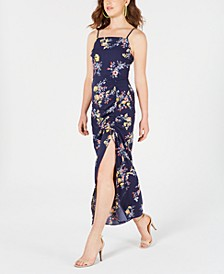 Juniors' Side-Slit Maxi Dress, Created for Macy's
