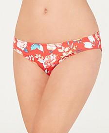 Floral Hipster Bikini Bottoms