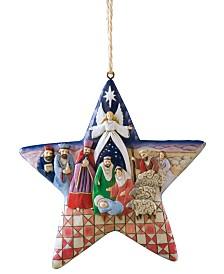 Jim Shore Nativity Star Ornament