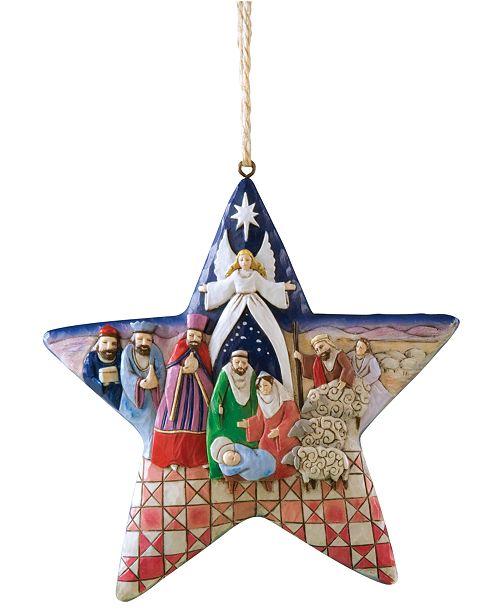 Enesco Jim Shore Nativity Star Ornament