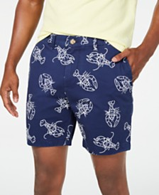 "Tommy Hilfiger Men's 7"" Lobster Graphic Shorts, Created for Macy's"