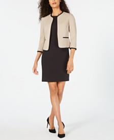 Le Suit Piped Jacket & Dress Suit