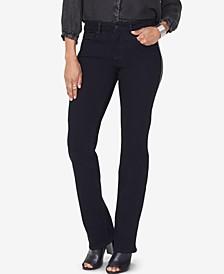 Marilyn Tummy-Control Embellished Straight-Leg Jeans