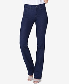 Petite Barbara Tummy-Control Bootcut Jeans