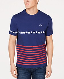 Men's Stars & Stripes Logo Graphic T-Shirt  Created For Macy's