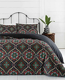 Nairobi Ogee Duvet Set, Full/Queen