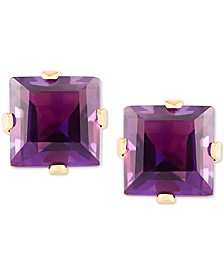 Amethyst (3/4 ct. t.w.) Stud Earrings in 14k Gold