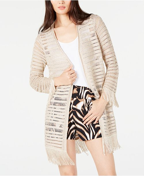 INC International Concepts I.N.C. Crocheted Fringe Completer, Created for Macy's