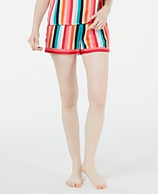 INC Striped Pajama Shorts, Created for Macy's
