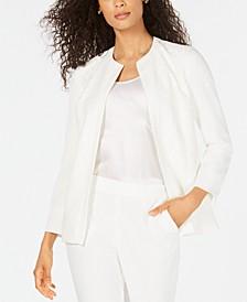 Lace-Front Blazer