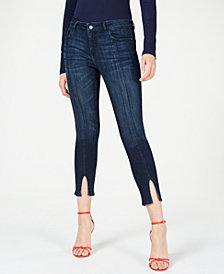 DL 1961 Florence Split-Hem Cropped Jeans