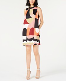 Marella Printed Shift Dress