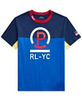 8ce0675e Polo Ralph Lauren Big Boys Cotton Jersey T-Shirt