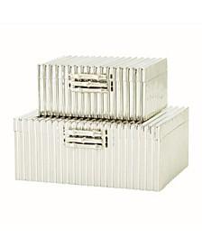 Corrugated Bamboo Box Small