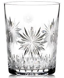 Waterford Drinkware, Snowflake Wishes for Courage Double Old Fashioned Glass